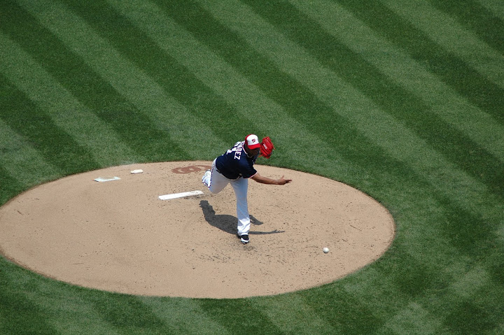 Livo on the mound