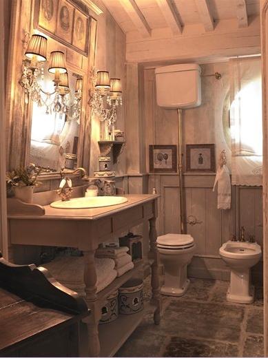 Amore per interni in stile provenzale - Bagno stile provenzale ...