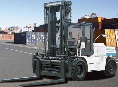 Xe nâng Unicarriers 10 - 16 tấn Nhật Bản