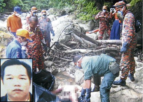 Mayat Nian Hoi Chun, 50, ditemui dalam keadaan berbogel