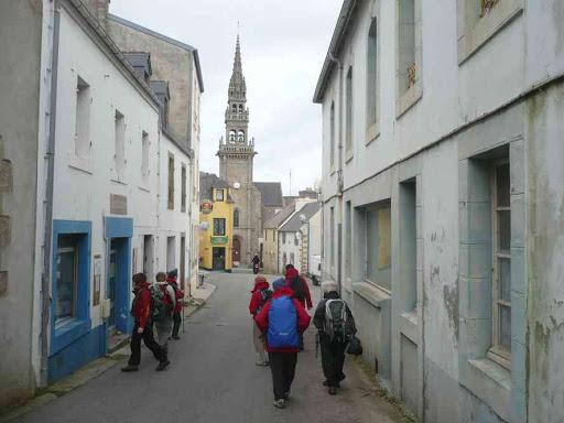 La rue principale de Lampaul