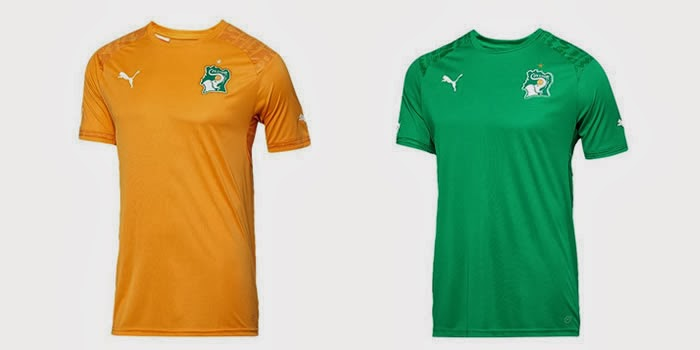 Puma Ivory Coast 2014 World Cup Home & Away Kits – Leaked