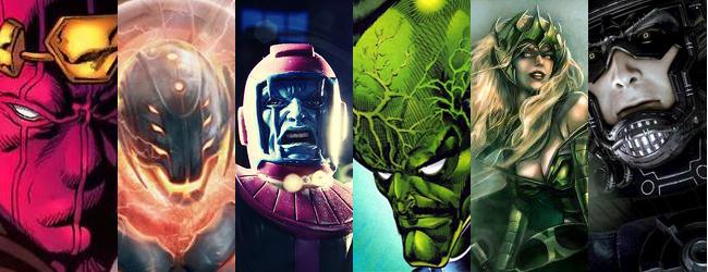 Vilões da Marvel - Tudo de Pop Art