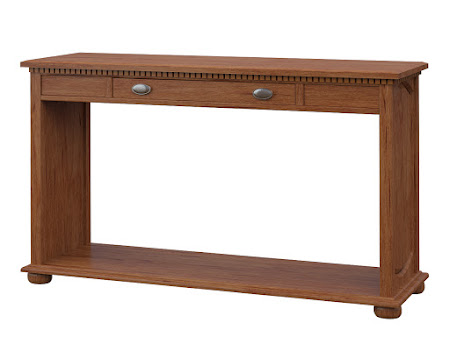 Valencia Sofa Table in Vermont Maple