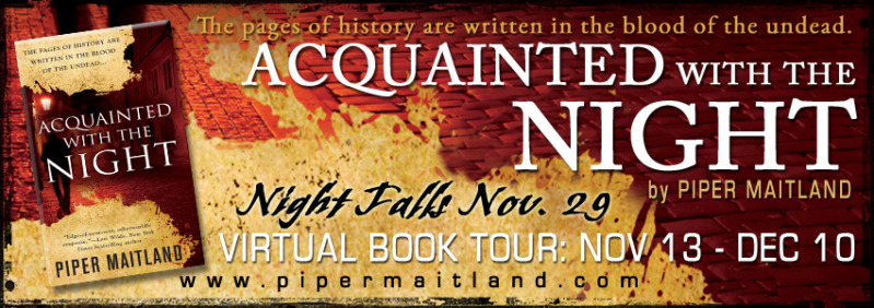 Acquainted with the Night tour banner