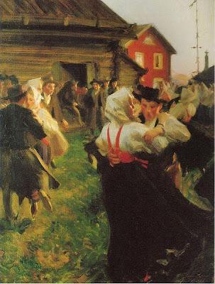 Anders Zorn - Midsummer Dance