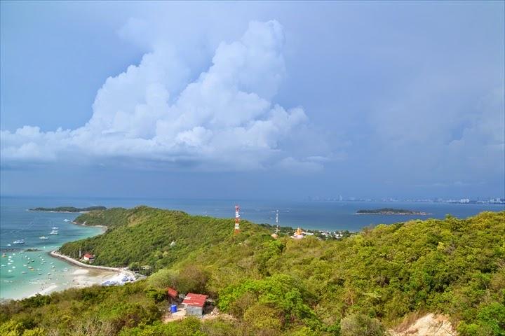 ラン島のビューポイントの絶景(1)