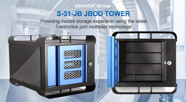 S-31-JB JBOD Tower