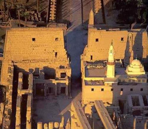 First Pylon And Shrine Of Seti Ii Temple Of Amon At Karnak