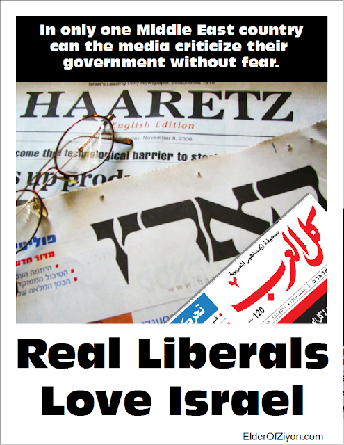 Real liberals love Israel