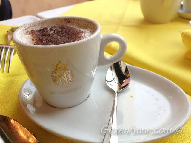 oğlumun sıcak çikolatası, Le Negresco Nice