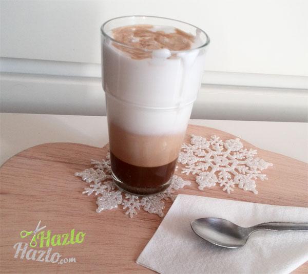 Café con leche batida