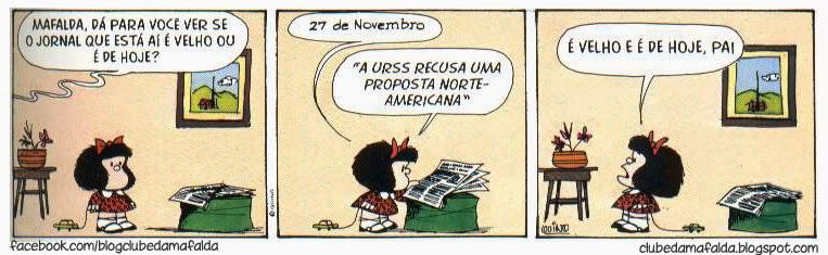 Clube da Mafalda: Tirinha 573