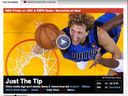 ESPN fail