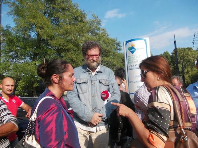 Marina Kovari e Stefania Martini solidarizzano con la lotta della Muiltiservizi