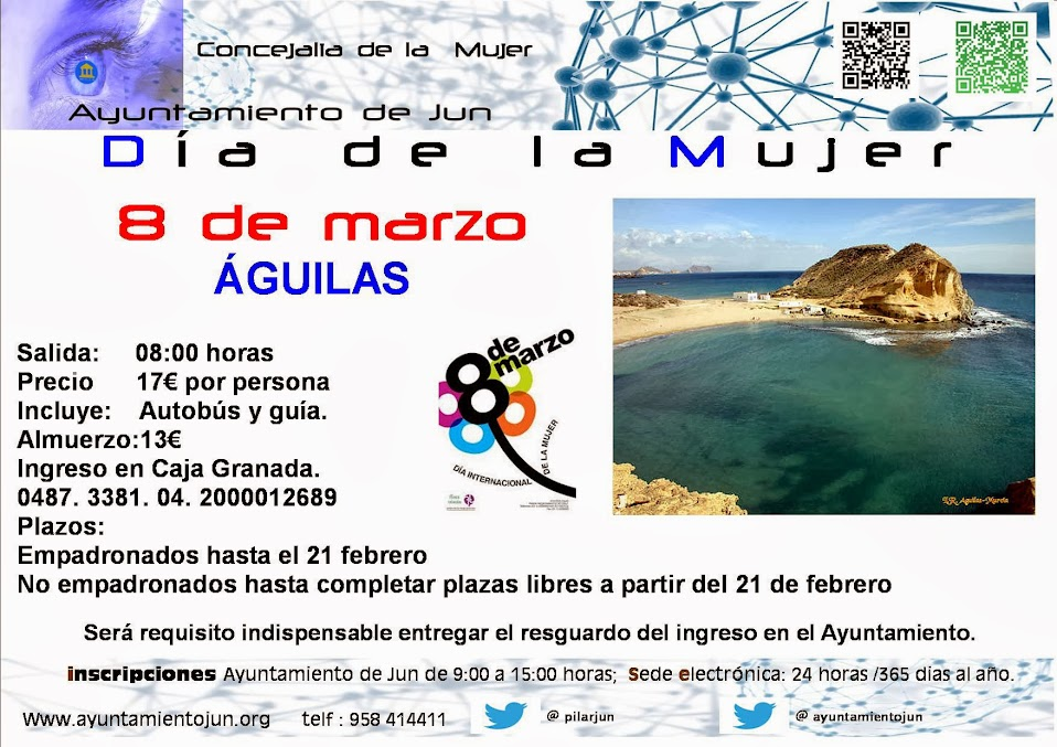 Cartel publicidad Viaje dia de la mUjer 2014