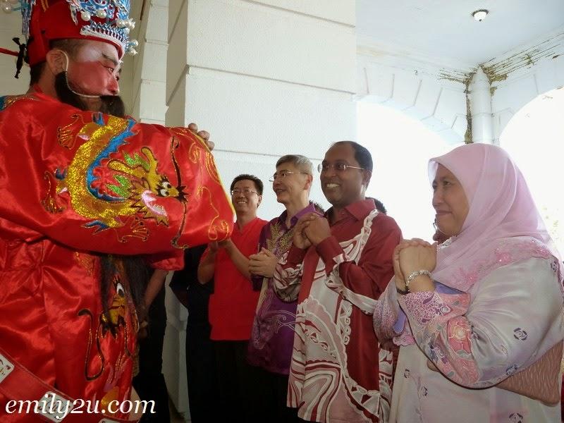 Perak Gerakan Chinese New Year Open House
