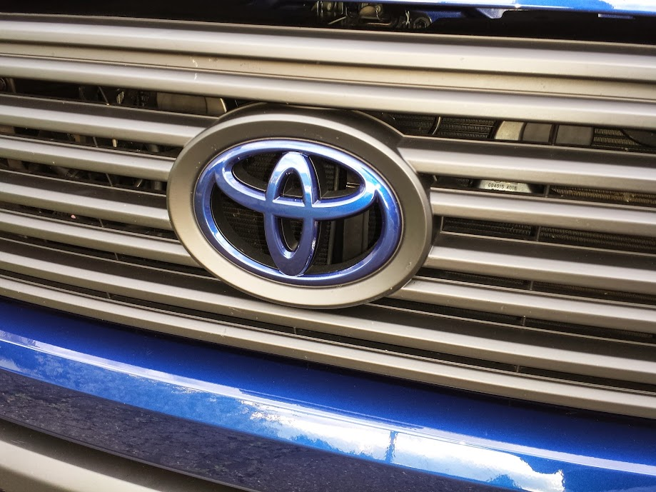 Tundra Color Matched Grill Surround Color Matched Grill