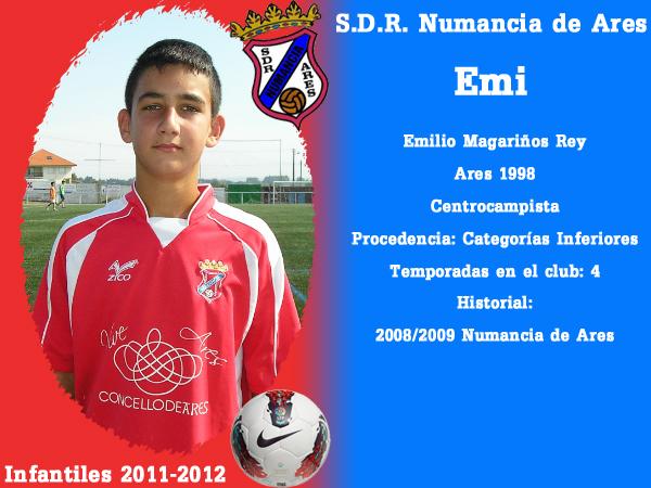 ADR Numancia de Ares. Infantís 2011-2012. EMI.