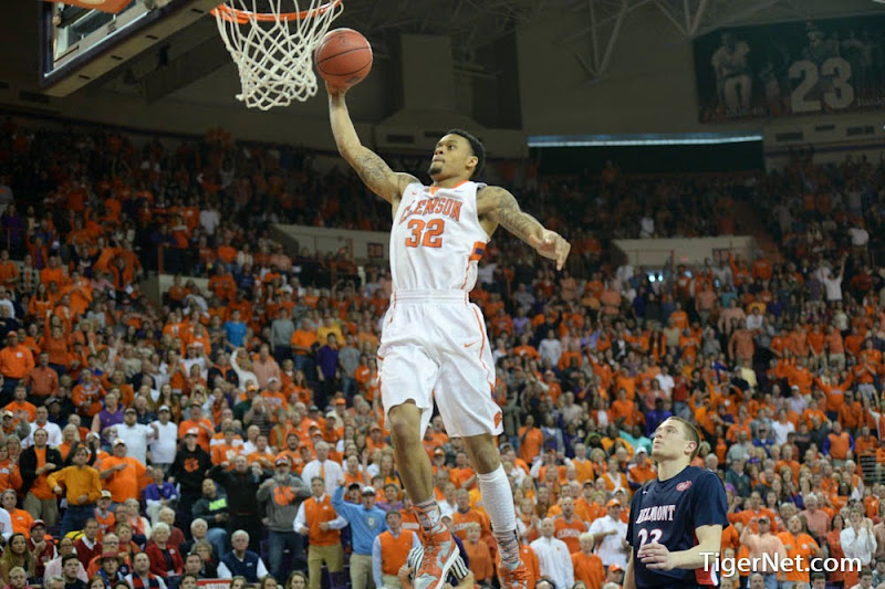 Clemson vs Belmont (NIT) II Photos - 2014, Basketball, K.J. McDaniels