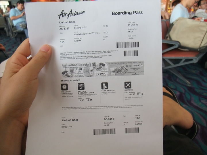 Airasia Boarding Pass Archives