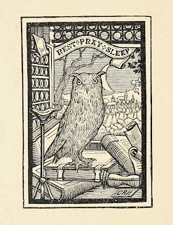 Engraved image; Owl Moon \ Rest~Pray~Sleep\  1902  sc 1 st  Vintage Ephemera - Blogger & Vintage Ephemera: Engraved image; Owl Moon \