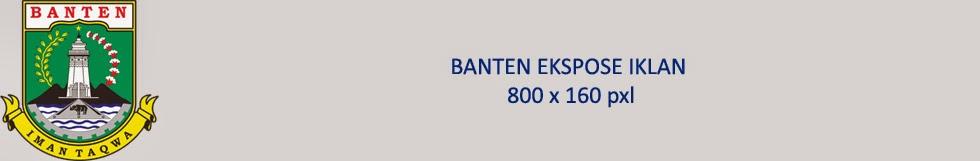 Banten Ekspose. Informasi Banten Terdepan