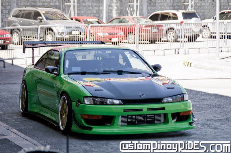 Mean Green Nissan S14 Silvia Custom Pinoy Rides Car Photography Philippines Philip Aragones THE aSTIG pic2