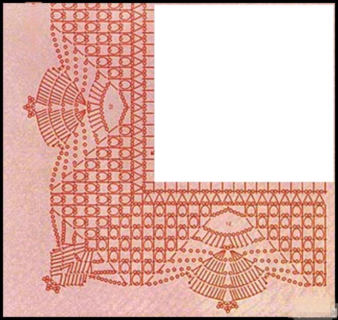 graficos tricot dos agujas graficos crochet ganchillo puntillas