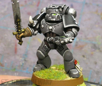 Revilers Space Marine with auspex