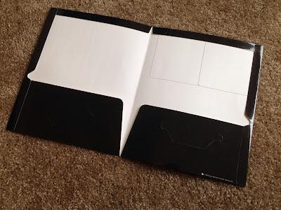 school folder on floor