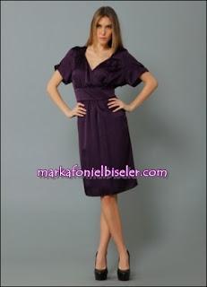 Markafoni Marks & Spencer Saten Elbiseler
