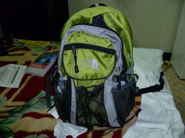 My North Face bag