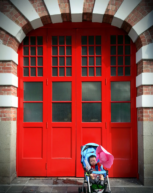 ServicefromHeart travelxp Singapore Central Fire Station gate door