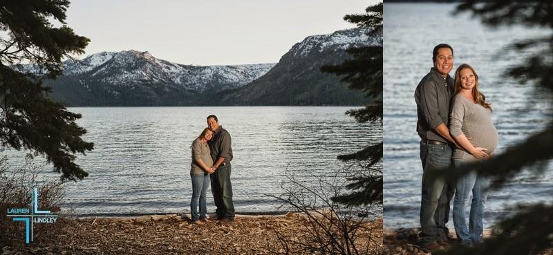 Tahoe Maternity Portraits