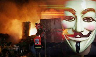 Sitios web del gobierno israelí bajo ataque, con Anonymous a la cabeza
