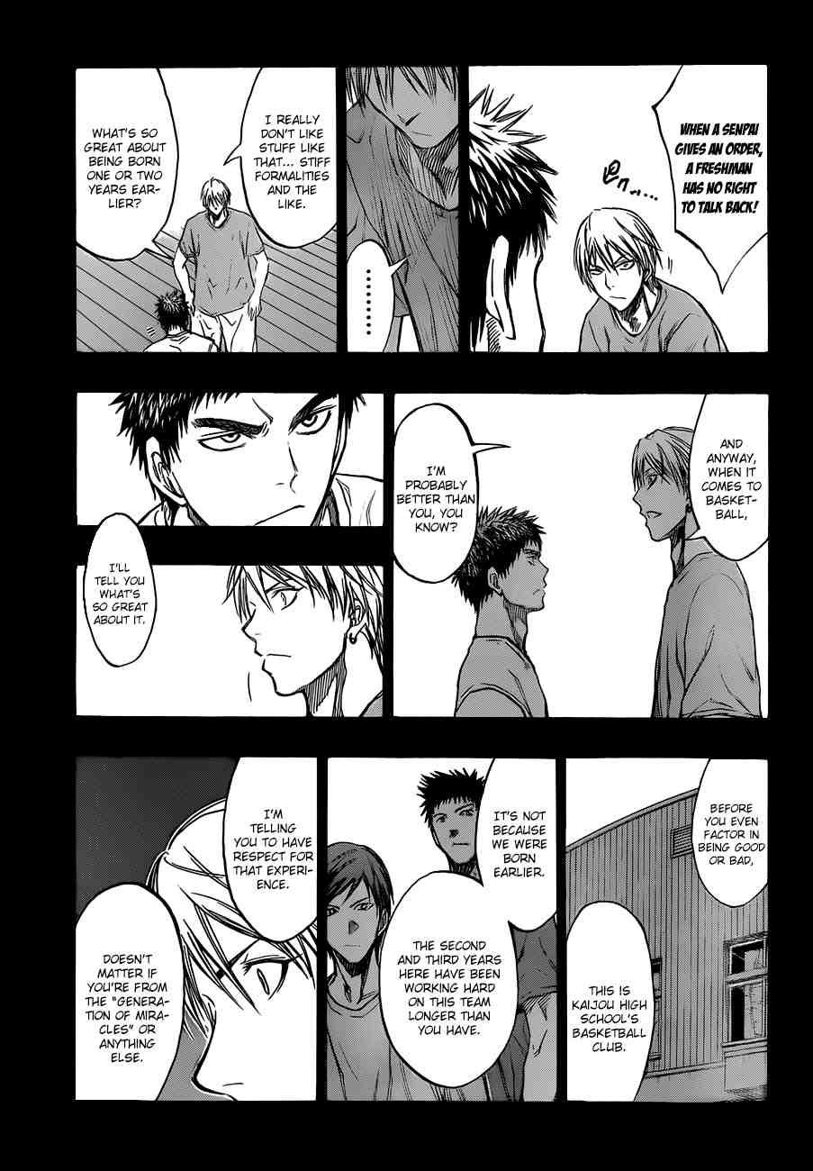 Kuroko no Basket Manga Chapter 192 - Image 17