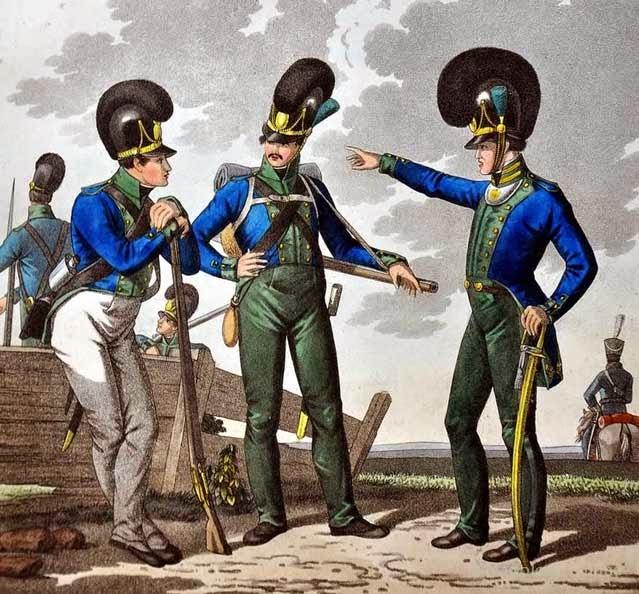 Баварские воины