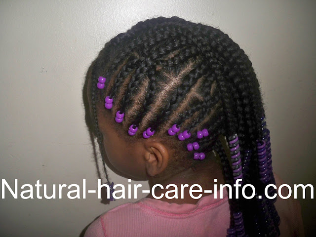 Mohawk Braids Hairstyle African American