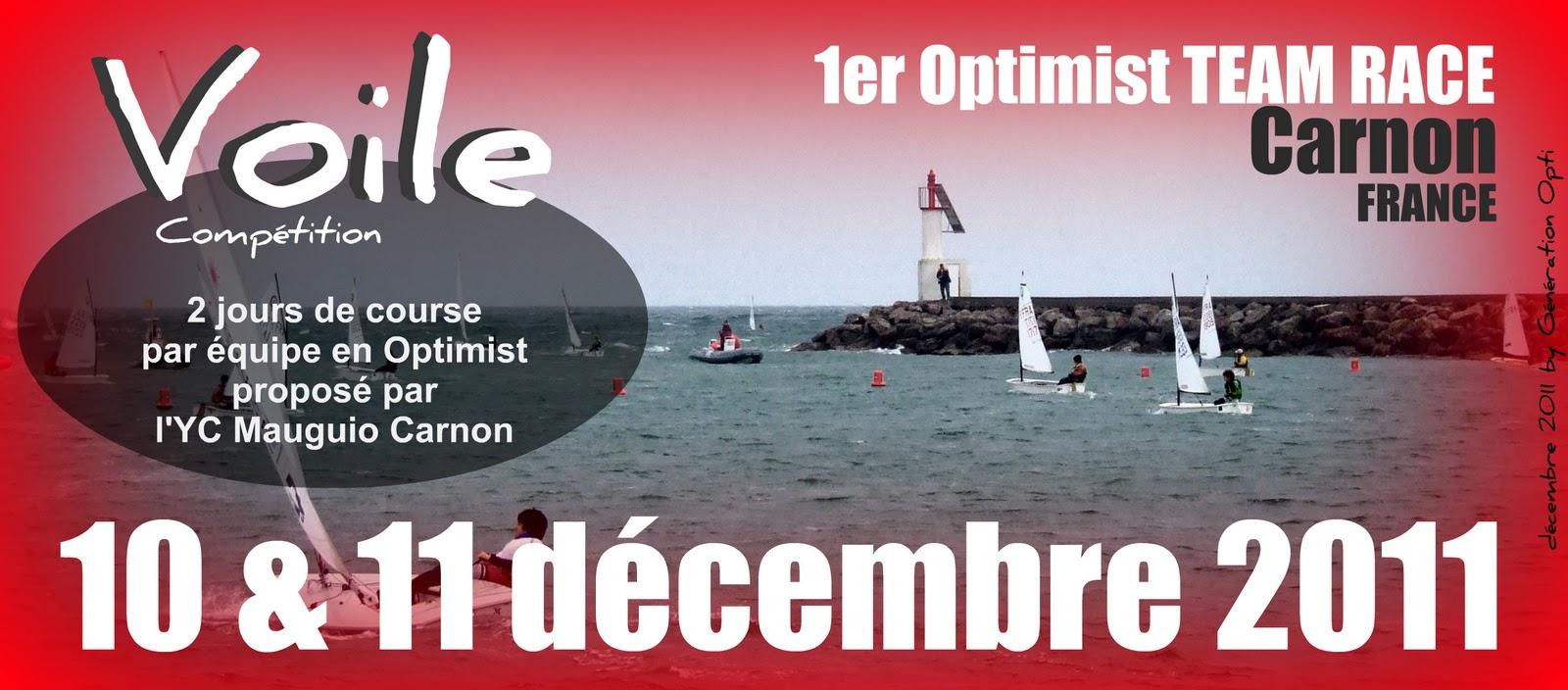 Voile Optimist Opti Compétition régate TEAM_RACE Carnon 2011 34 Hérault Generation_Opti