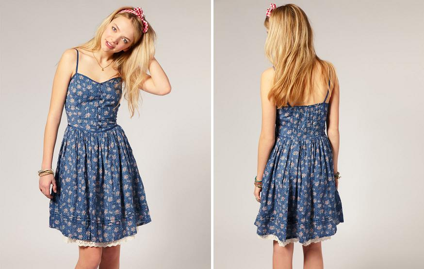 a0f1514802 Pepe Jeans Floral Printed Strappy Dress