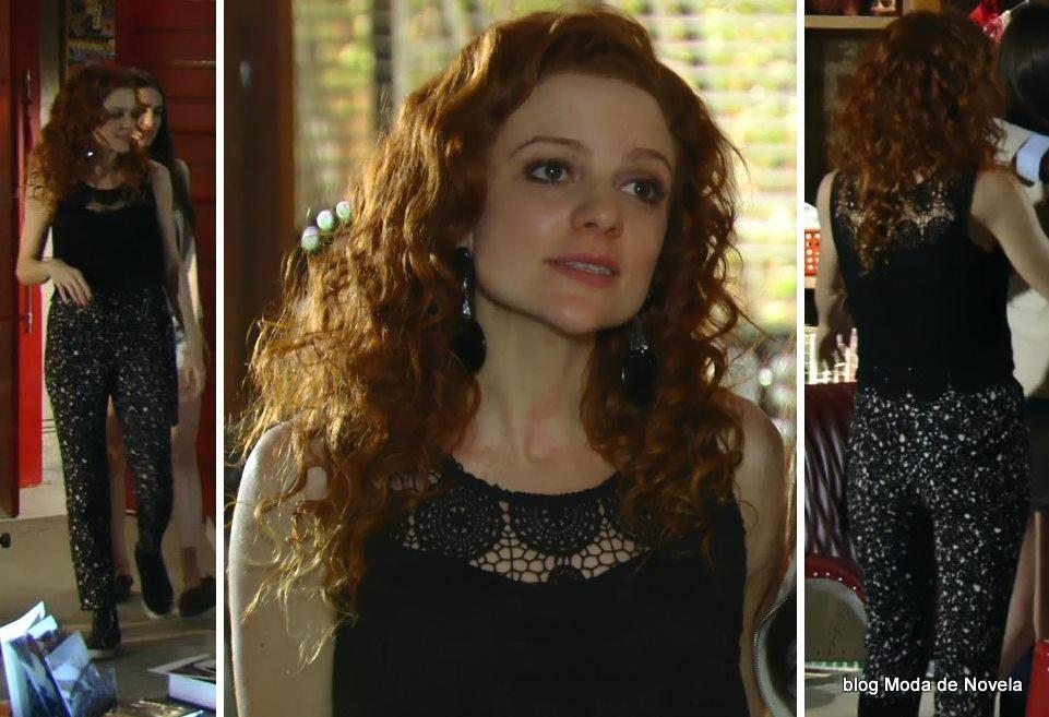 moda da novela Em Família - look da Vanessa dia 21 de maio