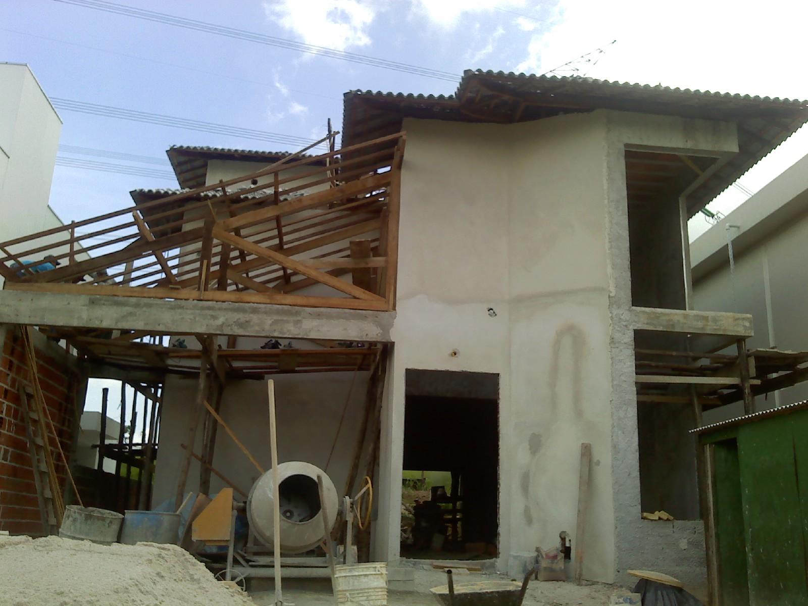 #2A57A1 Colocação dos batentes contra marcos e madeiramento do telhado 3891 Como Montar Janelas De Aluminio Da Linha Suprema