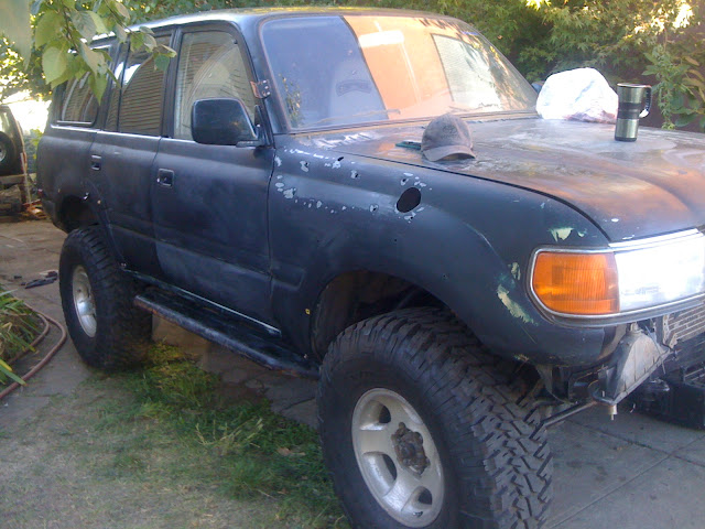 1994 80 series with a new heart= 1hdt    Diesel Cruiser   Expedition