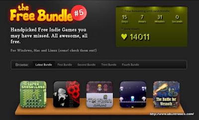 """Un paquete de juegos gratis en """"The Free Bundle 5"""""""