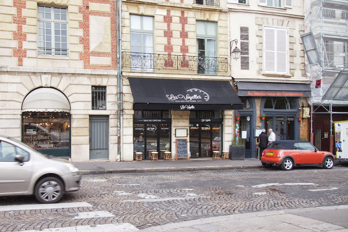 フランスパリ観光2日目のランチ