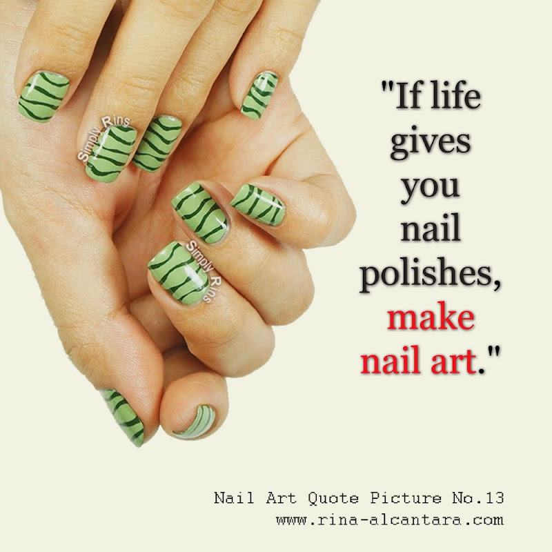 Nail Art Quote No.13