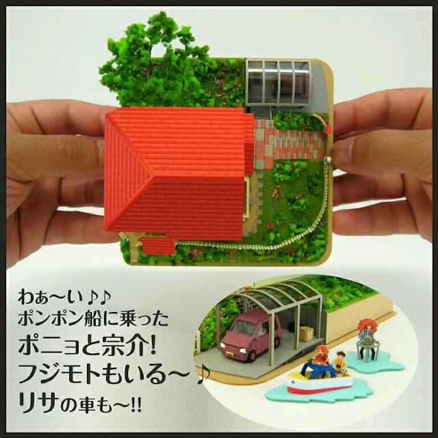 Ponyo and sosuke's House picado
