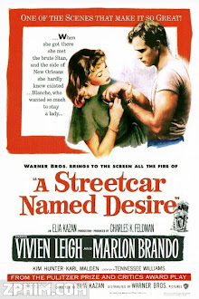 Chuyến Tàu Mang Tên Dục Vọng - A Streetcar Named Desire (1951) Poster