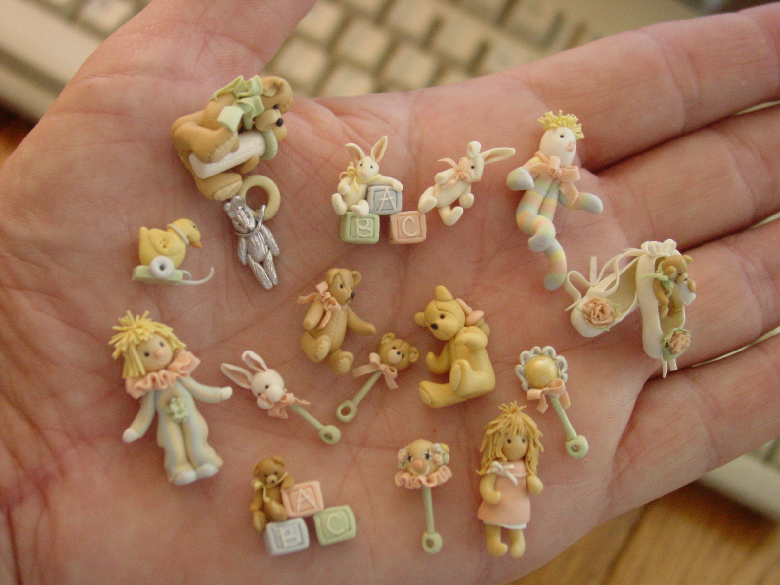 how to make clay miniatures